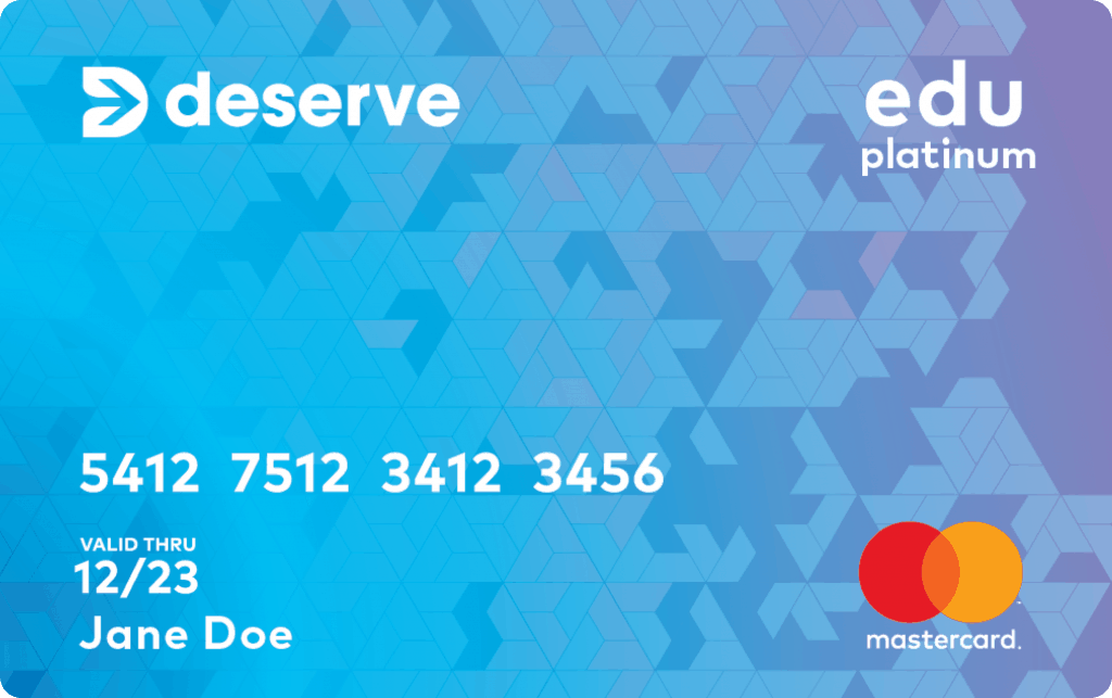 deserve card for those with no credit score